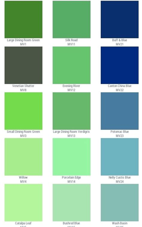 green colors list color for your home interior archives sensational color