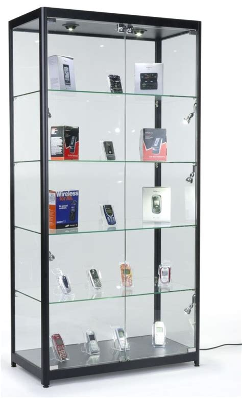 glass cabinet with lights glass curio cabinet with lights to create a beautiful display