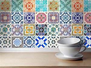Badezimmer Fliesen Aufkleber : traditional spanish tiles stickers tiles decals tiles for kitchen backsplash or bathroom ~ Sanjose-hotels-ca.com Haus und Dekorationen