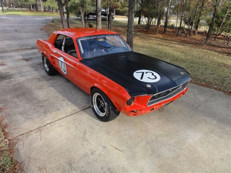 1967 Ford Mustang Vintage Race Car, Svra,cvar, Rmvr,road