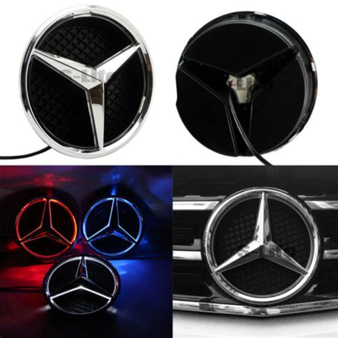 You can order from www.ksgtuning.comwww.ksgtuning.com. Illuminated 2013-2016 Car Led Grille BlLED Logo Emblem Light For Mercedes Benz   eBay