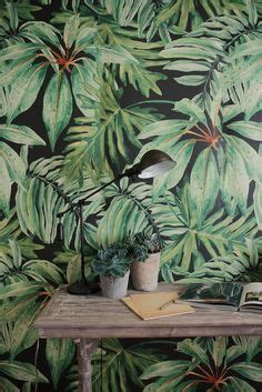 walldecor tropical banana leaves p p p up a penguin l collective individualism