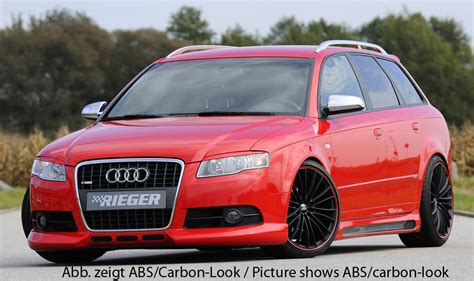 audi a4 8e b6 b7 00 08 rieger vented side abs kits a4 b6 00 06 audi