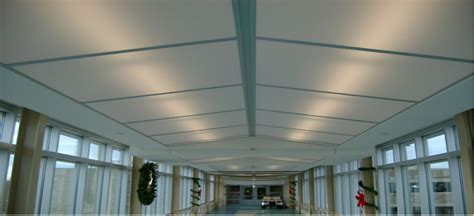 Newmat Light Stretched Ceiling by Specialty Ceiling Systems Inex