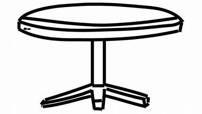 Table Drawing 3d Round Line Animation Background