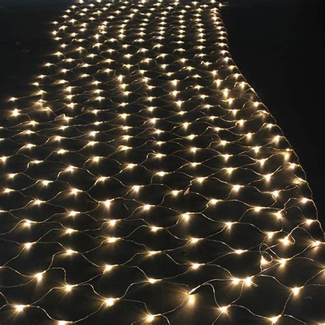 300 led net mesh fairy string light christmas lights