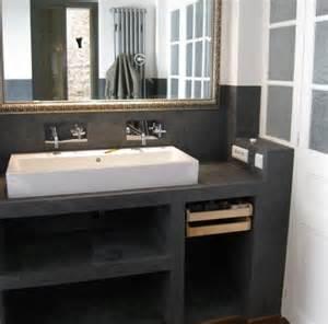 salle de bain beton cire recherche salle de bain