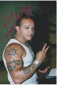 Rey Mysterio Jr Signed UNMASKED 4x6 Photo WWE | eBay