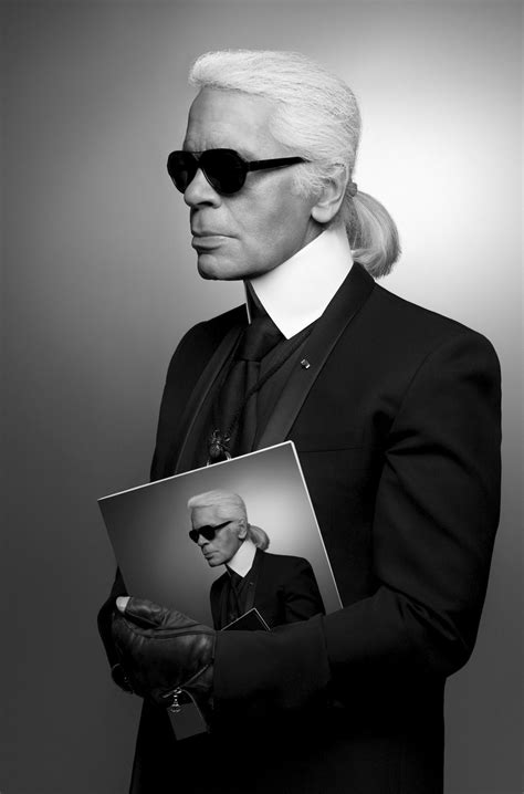 karl lagerfeld interview shopping style time  london