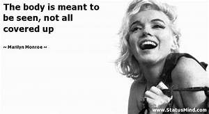 Marilyn Monroe Quotes at StatusMind.com - Page 9 ...