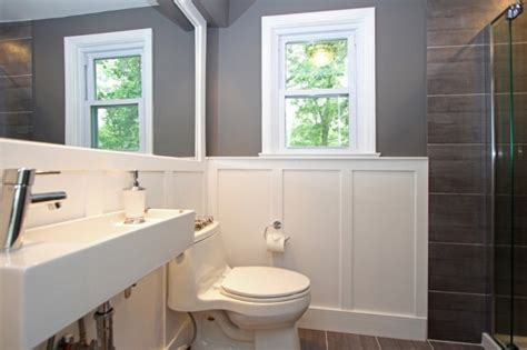 wainscoting small bathroom gen4congress com