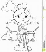 Coloring Bow Arrow Fairy Fatato Freccia Coloritura Arco Pagina Dell Della Mandala Bows Wickedbabesblog sketch template
