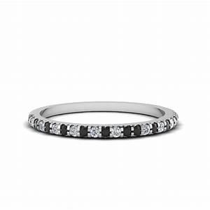 18k white gold black diamond wedding band fascinating With black diamond wedding bands rings