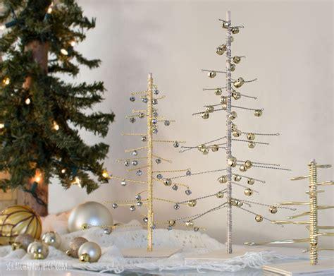 Weihnachtsbaum Aus Draht by Handmade Wire Trees By Scratchandstitch