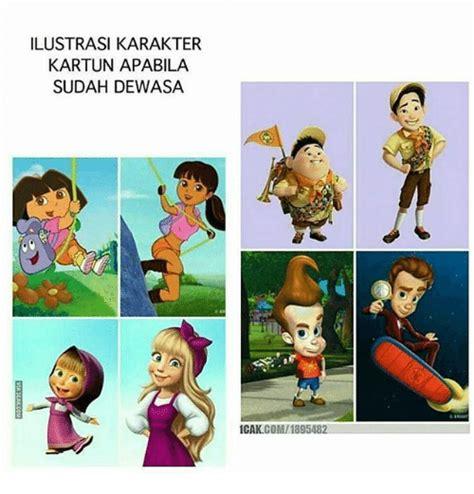 Icak Meme - gambar 22 ilustrasi horor tokoh populer film animasi bikin merinding ya di rebanas rebanas