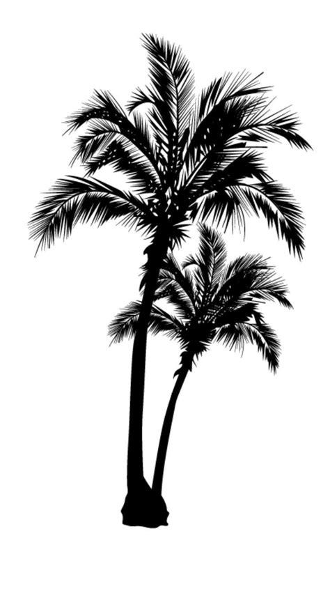 Beach palm tree vinyl decal/sticker | Tree tattoo designs