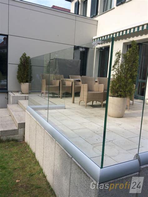 Zaun Aus Glas by Wind Sichtschutz Perviento Glasprofi24