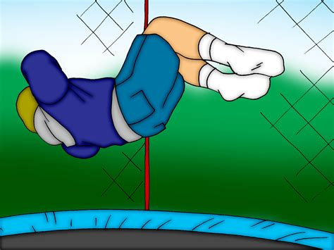 How To Do A Knee Flip On A Trampoline 8 Steps Wikihow