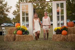 wedding aisle ideas intimate rustic fall wedding grace