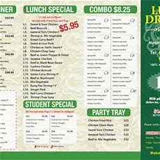 Lucky Dragon Restaurant  Chinese  3714 Portage Road