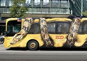 Snake Guerrilla Marketing Bus Ad | In A Gorilla Costume
