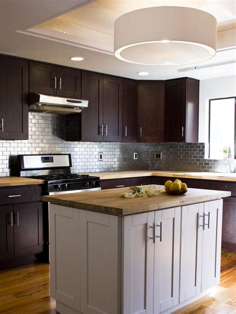 stainless steel kitchen backsplashes hgtv