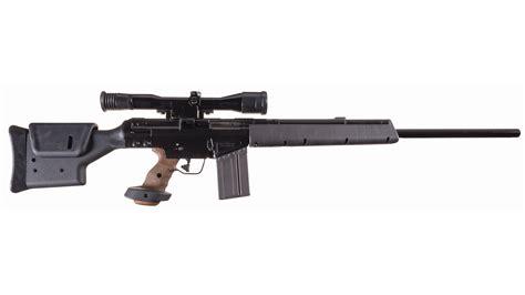 heckler koch psg semi automatic sniper rifle  scope