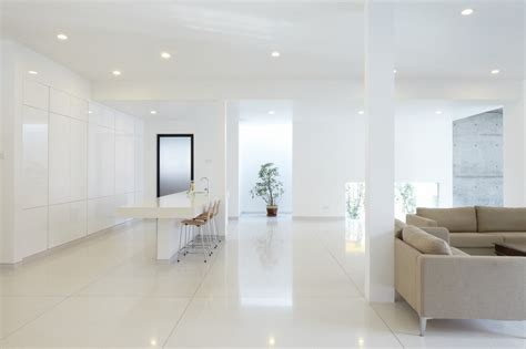 white home interior design all white interior design mixed with feng shui