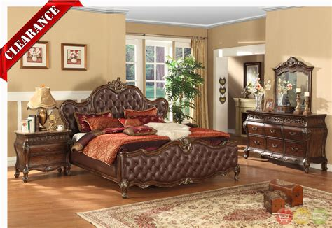 antoinette antique brown tufted leather traditional