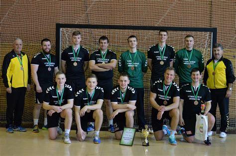 Lietuvos studentų rankinio čempionate VDU komanda laimėjo ...