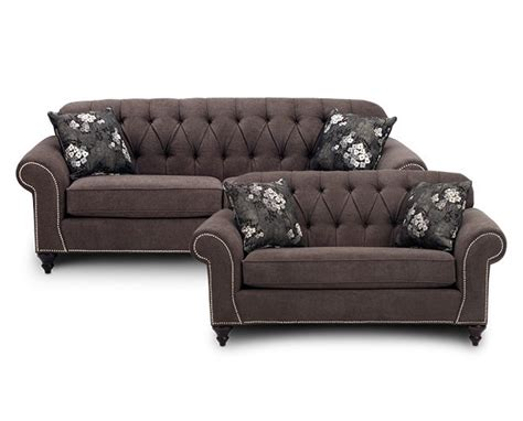 Elevations 5 Pc. Chocolate Reclining Sectional