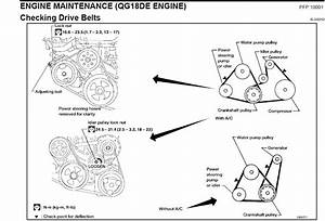I Am Trying To Change The Belts On A 2004 Nissan Sentra 1