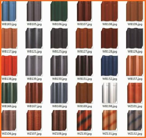 2013 different types of ceramic clay roof tiles wb108