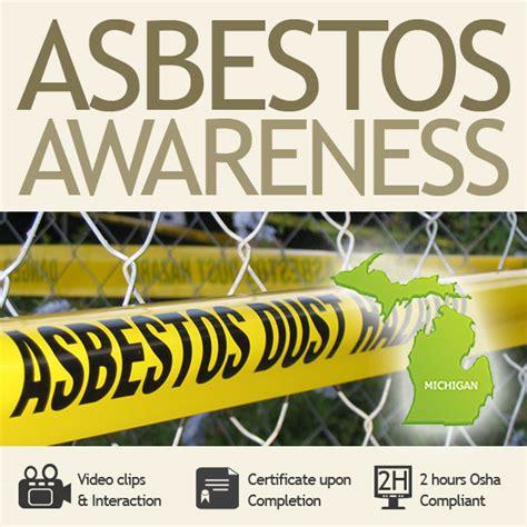 michigan  hour asbestos awareness training haztrainer