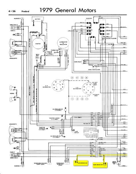 1978 Firebird Wiring Diagram by 1979 Trans Am Wiring Diagram Camizu Org