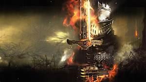 Dark, Souls, Armored, Knight, -, Game, Free, Wallpaper
