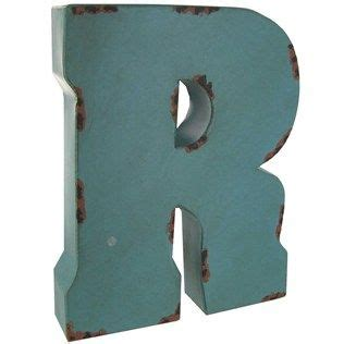 large blue  brown metal letter  shop hobby lobby metal letters large metal letters