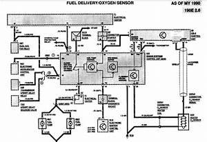 Power To Fuel Pump Relay 91 190e