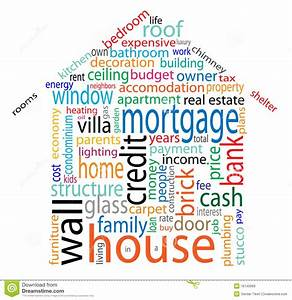 House word cloud stock vector Illustration of graphic