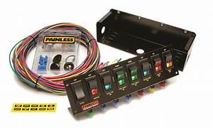 Painless Wiring 50303 Fused Rocker Switch Panel