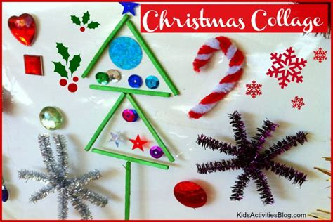 christmas art   collage