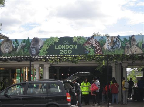 zoo london entrance