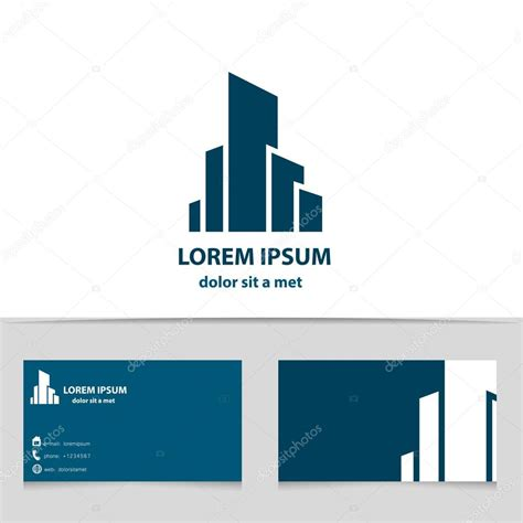 Company St Template by Construction Business Cards Logos Gallery Card Design