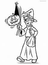 Sorcier Halloween Ausmalbilder Coloriage Enfant Kleurplaten Kleurplaat Deguise Colorier Dessin Speciale Dagen Treater Ausmalbild Malvorlagen Coloring Bild Gifs Coloriages Imprimer sketch template