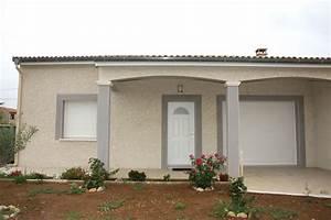 Porche Entrée Maison : porche entree maison gallery of uac maison m pices with ~ Premium-room.com Idées de Décoration
