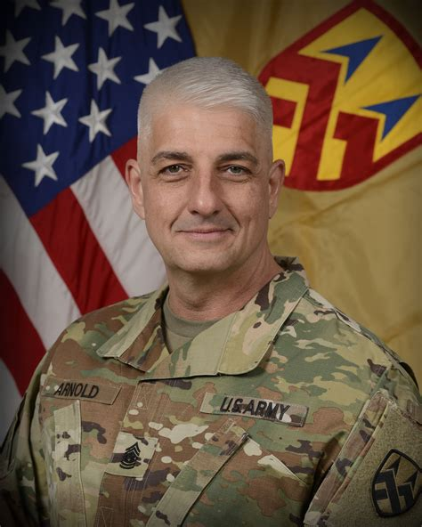 command sergeant major lawrence  arnold  army