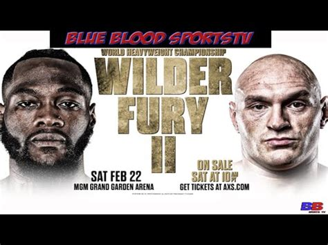 DEONTAY WILDER VS TYSON FURY REMATCH NO PRESS CONFERENCE ...