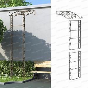 Arche Metal Pour Plante Grimpante : arche jardin ~ Premium-room.com Idées de Décoration