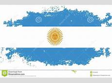Grunge Argentina flag stock illustration Illustration of