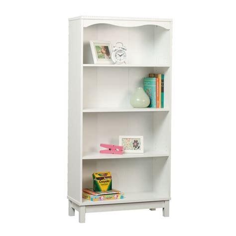 walmart white bookshelf sauder storybook bookcase soft white walmart